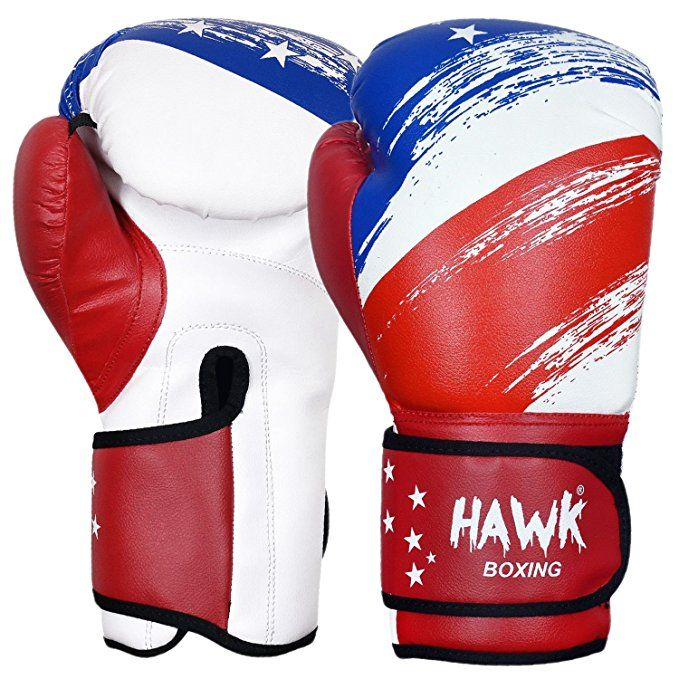 Leather Boxing Gloves Red MMA Sparring Training Fighting Punching Kickboxing