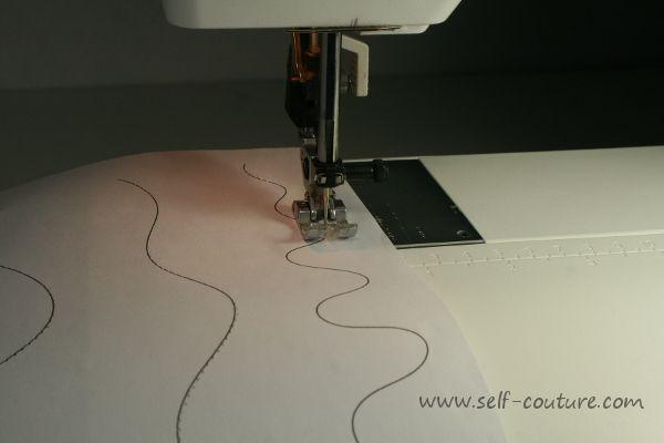 Cours de couture débutant n°6: coudre les courbes