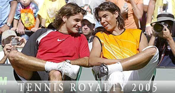 Roger  Federer and Rafael Nadal - Roger Federer and Rafael Nadal Photo (8168772) - Fanpop