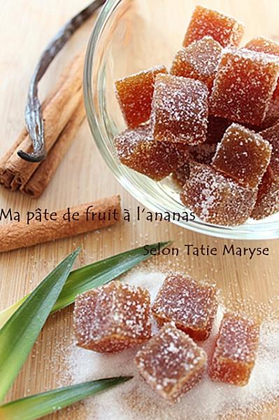 Recette de pâtes de fruits