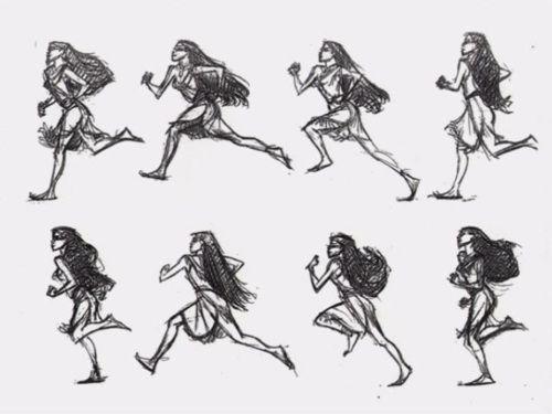 Pocahontas Model By Glen Keane