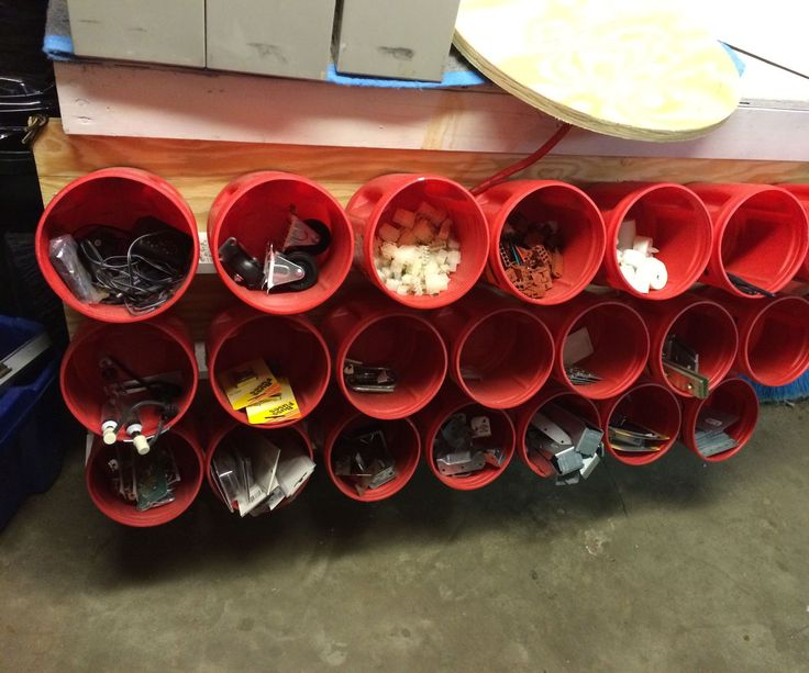 I was inspired to build these storage bin racks for three reasons. First, my basement shop is filled with hundreds of small parts of various quantities and types. I build ...