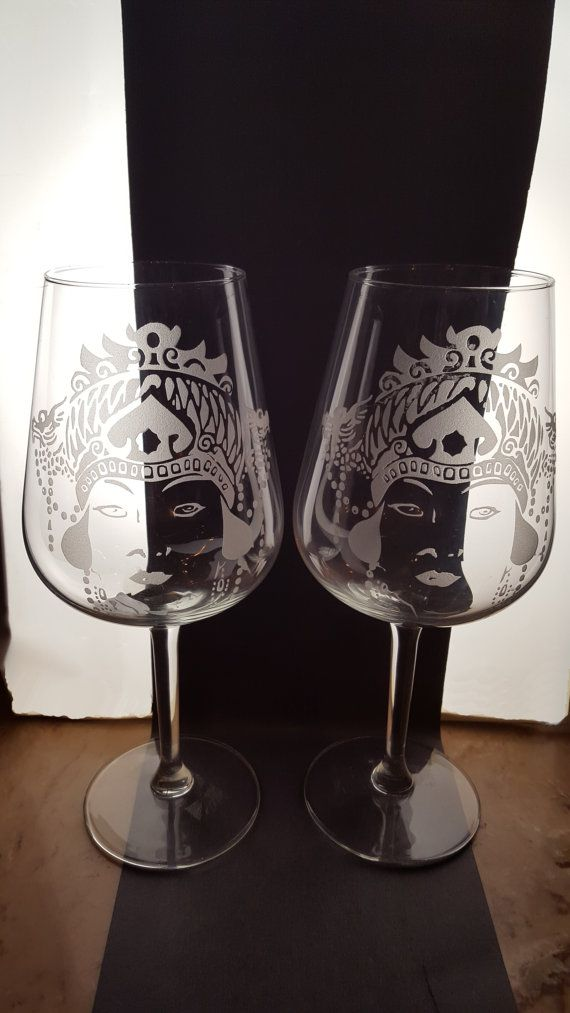 Check out this item in my Etsy shop https://www.etsy.com/listing/496952879/turandot-opera-series-each-wine-glass-is