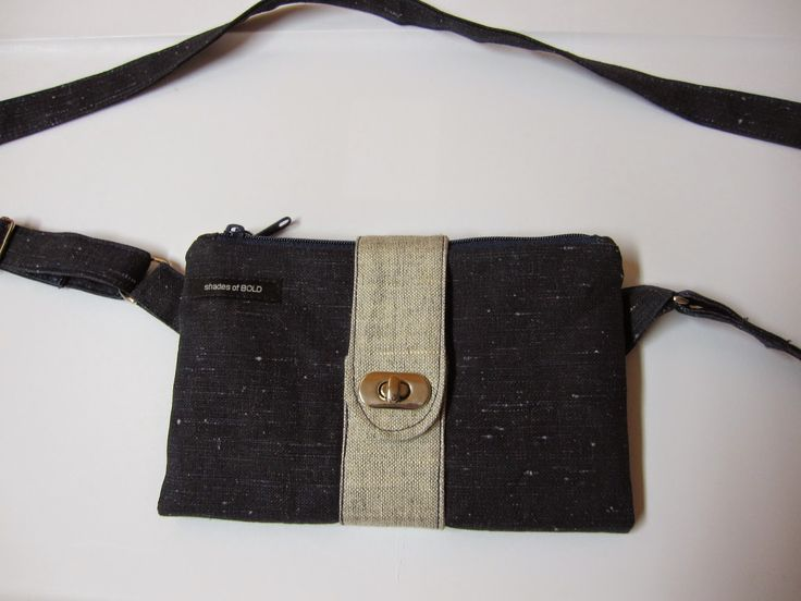 Parcel #7: shades of BOLD- Butterfly Sling Purse