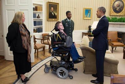 John Cohen Speaks with President Obama About People with Disabilities and Military Service
