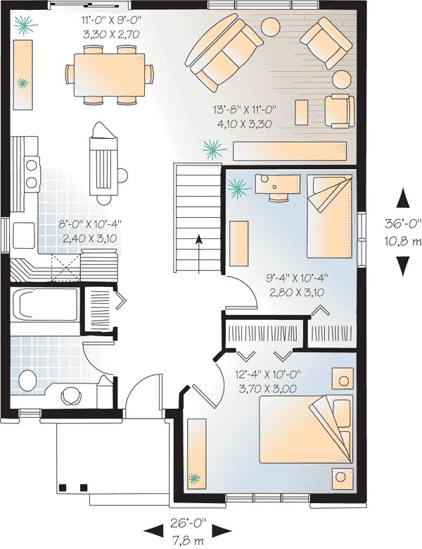 91 best Brown Trail images on Pinterest Small house plans Tiny