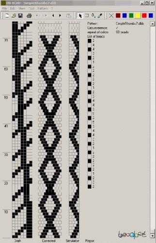 геометрия/формат dbb и jbb/Схемы для вязаных жгутов/Файлы/jbead