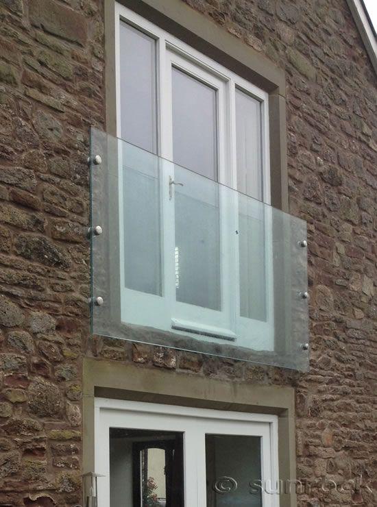 Juliet Glass Infinity Balconies