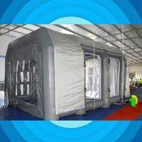Name: inflatable tent Material: Oxford cloth/PVC mesh cloth Size 6*4*3 m Voltage:220V Plug type EU A