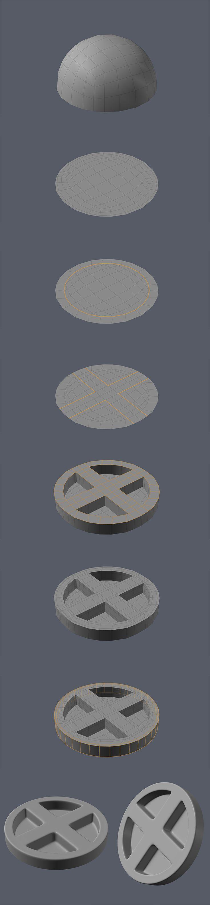 FAQ: How u model dem shapes? Hands-on mini-tuts for mechanical sub-d AKA ADD MORE GEO - Page 189 - Polycount Forum