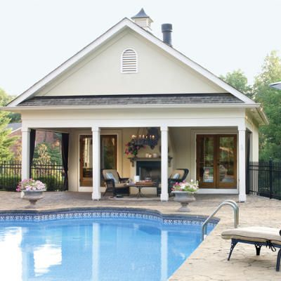 Poolside Escapes In 2018 Home Patios Porches Pools Come Sit A