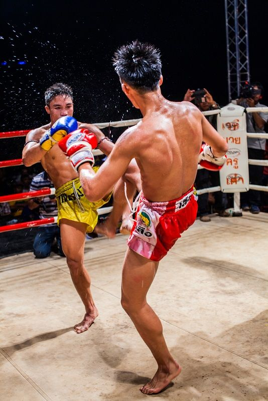 Kick Boxing at the Patong Stadium in Phuket, Thailand