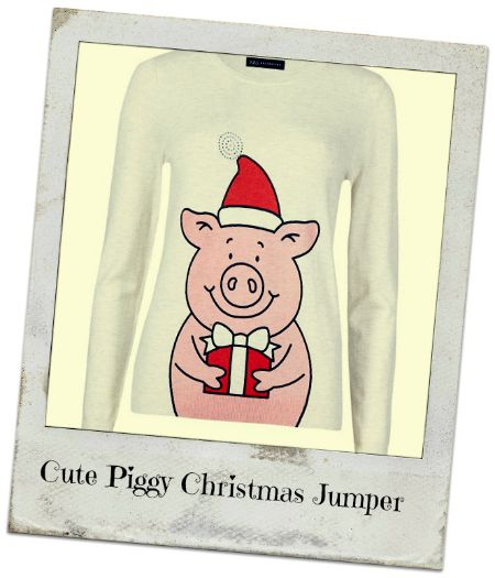 novelty christmas jumpers - percy pig