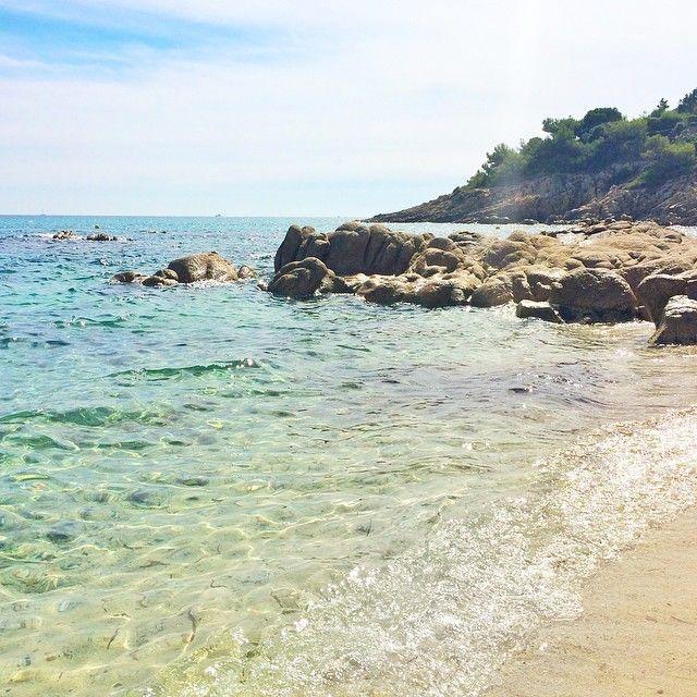Plage de l'Escalet, Ramatuelle (Golfe de Saint Tropez).