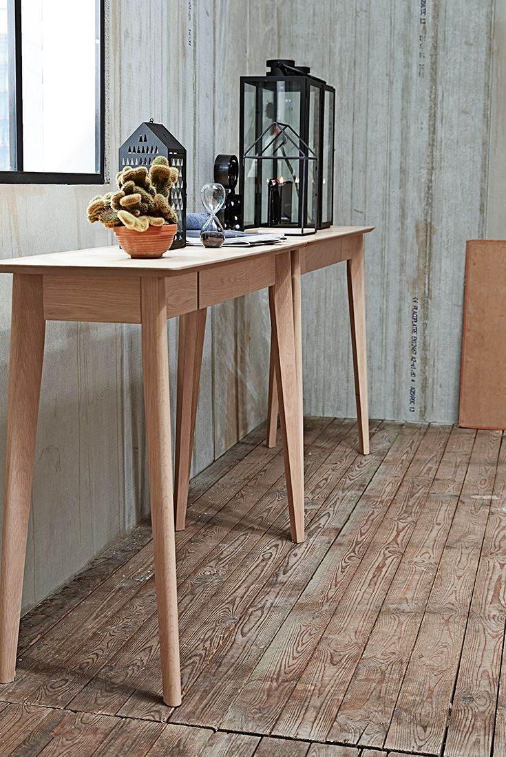 Industrial Modern console tables
