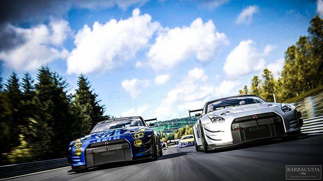Nissan GTR GT3 Circuit de Spa-Francorchamps GT3
