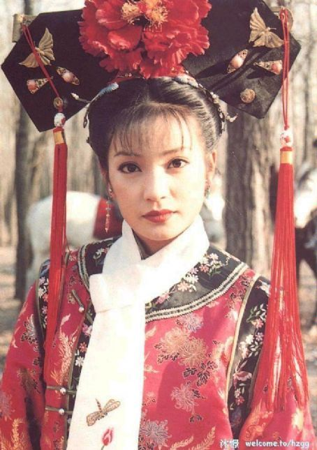 Chinese Qing dynasty clothes for princess