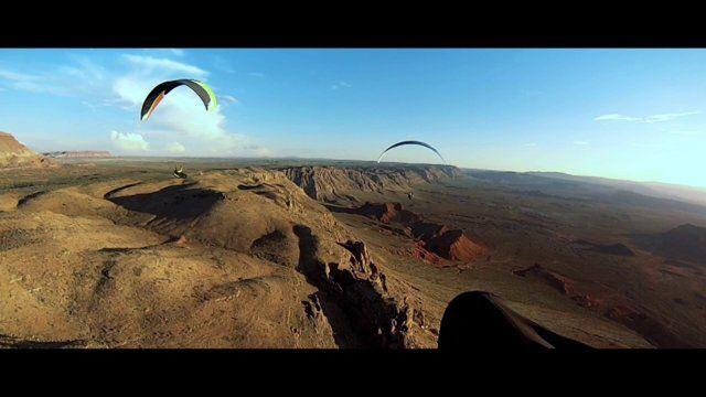 Paragliding pilots Nate Scales, Nick Greece, Matt Beechinor and Gavin McClurg attempt a bivvy line from Hurricane Ridge, Utah to Jackson Hole, Wyoming.  Filmed by Michael Paul Jones and Jeremy Canon with RED Epic cameras, human flight has never been captured in such a dramatic way.  Come along for the ride as the pilots are stymied by frustrating weather but find their love and passion for flight grows even deeper.