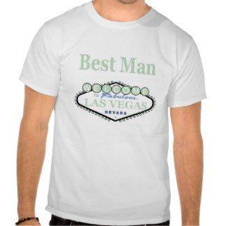 Las Vegas Best Man Soft Green T-Shirt