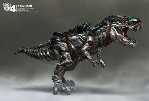 「トランスフォーマー/ロストエイジ」恐竜型ロボット、ダイノボットのコンセプトアート: 最新映画情報局 ニュース&予告編