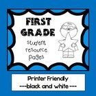 All pictures are made black and white to be printer friendly and be easier to print out/photocopy for multiple student journals.  Reading Pages: 2 ...