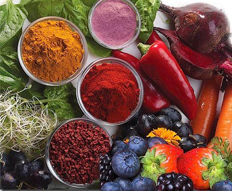 Natural Food Coloring Pinterest\'te hakkında 25\'den fazla en iyi fikir