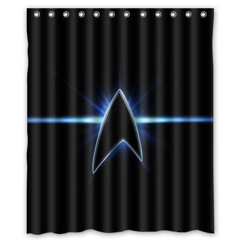 Star Trek Shinning Custom Shower Curtain 60 X 72 Bathroom