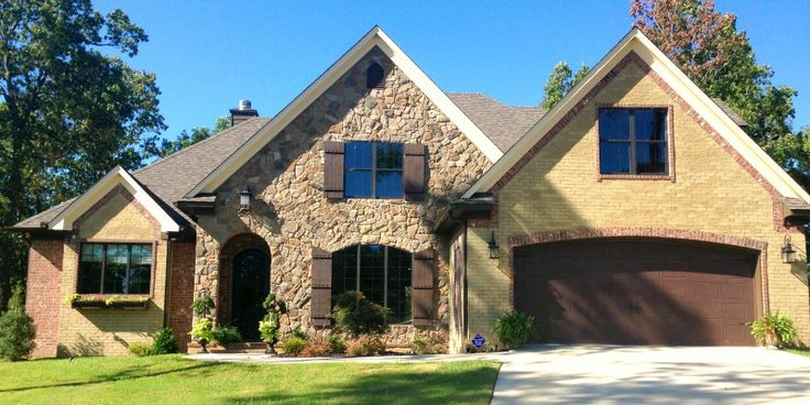 12 best cement slurry paint images on pinterest exterior for French country brick exterior