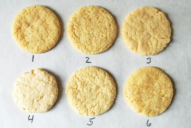 Cookie chemistry! Sugar cookies rely on a few simple ingredients for their flavor, texture, and appearance. What happens when you change their type of fat?