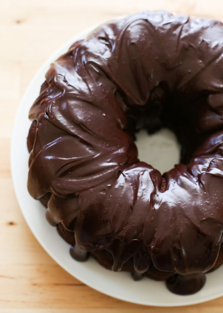 Hershey's One Bowl Chocolate Cake recipe by Barefeet In The Kitchen