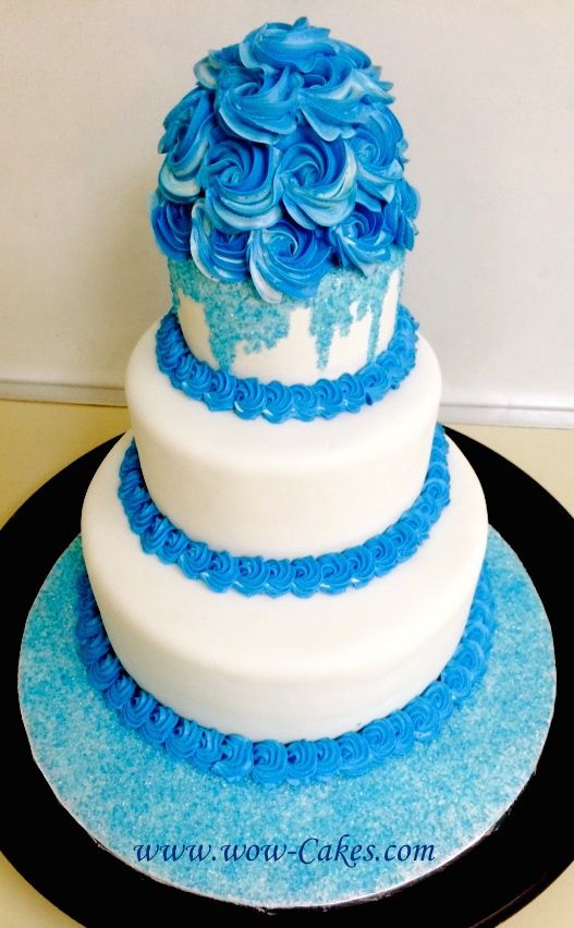 Roses Blue Sprinkles