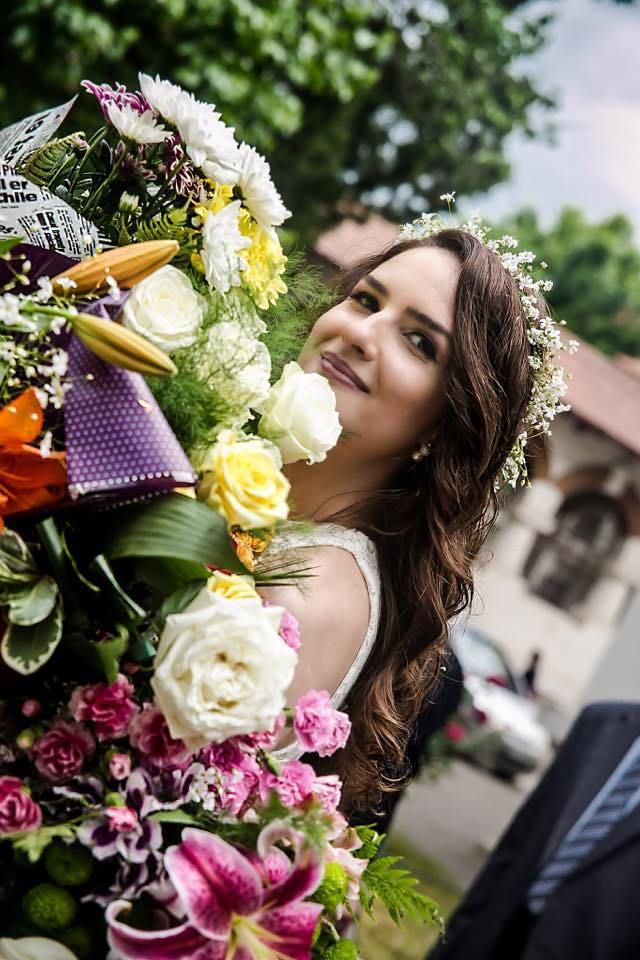 There was magic in the air: Ionut & Mary, civil union wedding photography by Alexandru Grigore, Location Romania, Bucharest #bride #flowers