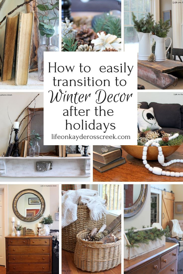 9 Easy Ways To Transition To Winter Decor After Christmas