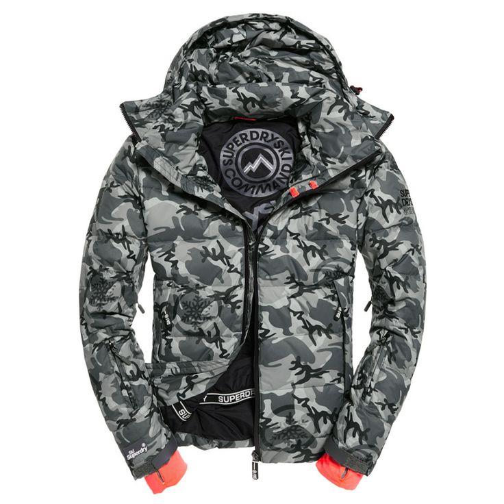 Vêtements De Ski, Snowboard Blousons Superdry Ski Command Utility Blouson Ski Homme
