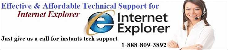 Internet Explorer support Help Phone Number 1-888-809-3892 Internet Explorer is a freeware web browser application that developed by Internet Explorer Inc. Explorer is now endorsed as World's best web browser. Instant Internet Explorer Customer support was never this easy to avail, still don't know how? The answer is by simply calling at Fix Tech Help which can help you indulge in a worry-free web browsing experience with Explorer, anytime! Click here:- www.it-servicenum...-
