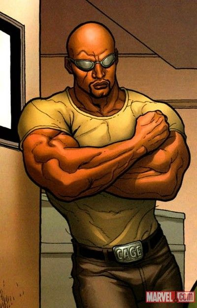 Luke Cage, Isaac's favorite superhero and the one he would want to dress up as.
