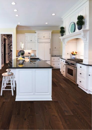 Best 20 vinyl wood flooring ideas on pinterest rustic Luxury kitchen flooring