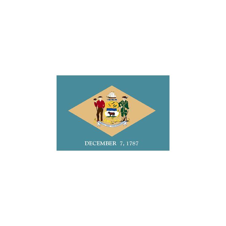 Halloween Delaware State Flag - 4' x 6', Variation Parent