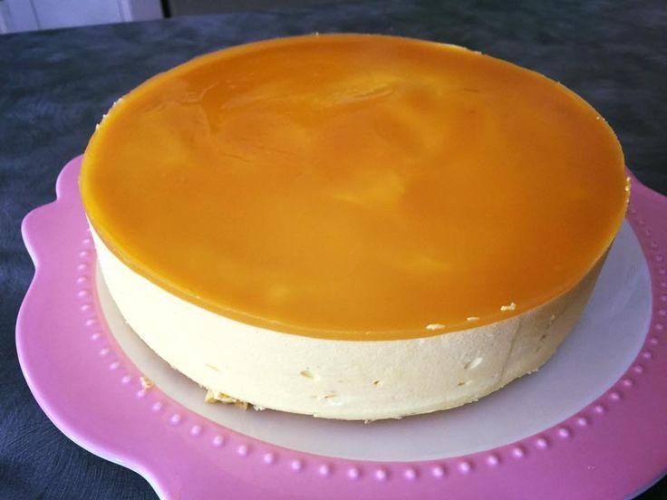 Mango Mousse Cake - YouTube