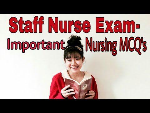 Staff nurse exam -Important nursing quiz questions | Staff