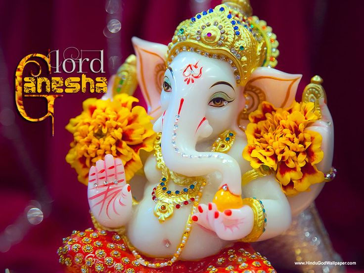 Ganesha wallpaper ganeshchaturthi Happy Birthday Ganesha