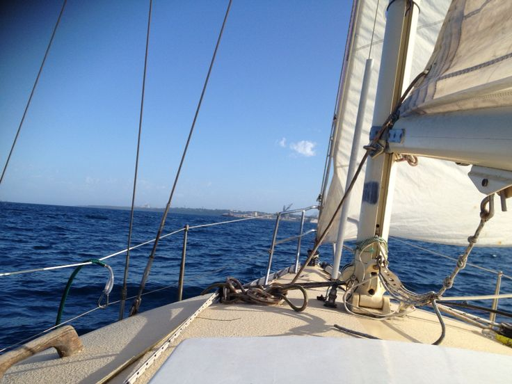 Sailing ocean home port yacht sea relaxing