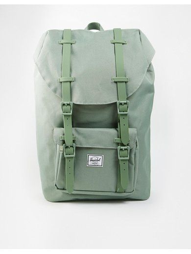 Herschel Supply Co Little America Backpack - Green http://sellektor.com/plecaki/strona-11?order=newest