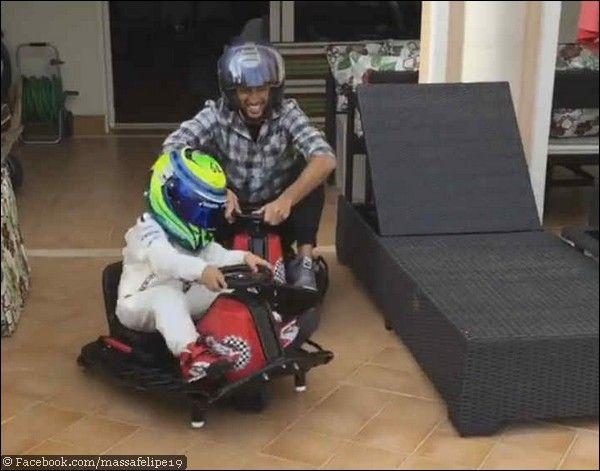 Felipinho Massa batte Ricciardo nel Mini Monaco GP
