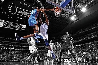 Kevin Durant. So talented for his height it's borderline unfair. He does things a 6-10 player shouldn't