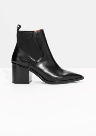 & Other Stories | Chunky Chelsea Leather Boots