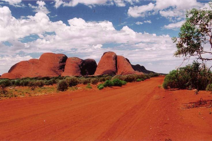 Central Australia  the Olgas