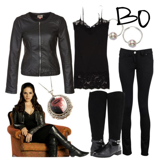 """""""Bo"""" by fandom-wardrobes ❤ liked on Polyvore featuring ...Lost, Majorica, AX Paris, rsvp, ONLY, bo and lost girl"""