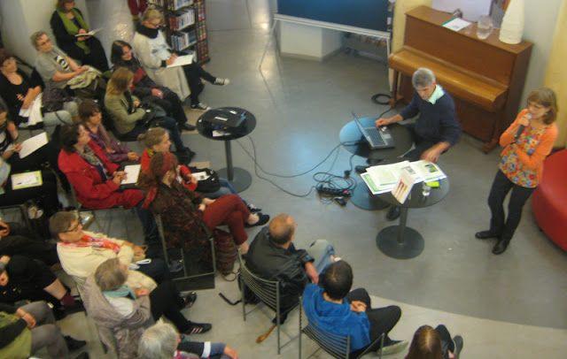 Hortoilu: Kallion kirjasto pursusi hortaväkeä!