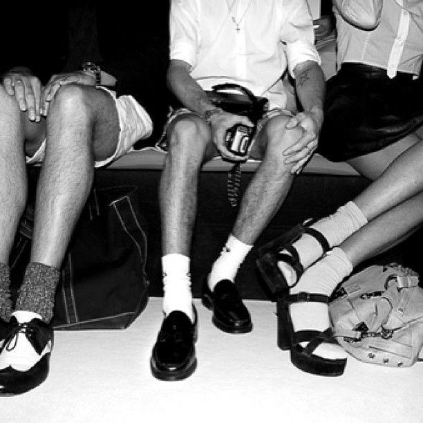 Feeling #daviddelfinfrontrow #daviddelfin #frontrow #madridfashionweek #shoes #b #three